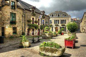 Moment de détente en famille en Bretagne