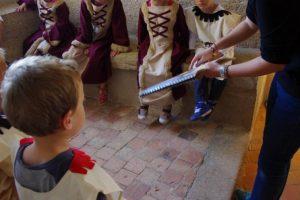 Visite pour les enfants de tous les âges au château de Suscinio