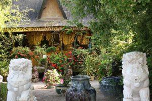 Visiter le jardin asiatique Tropical park proche village vacances